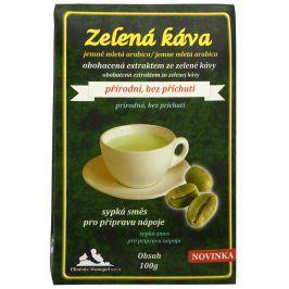 Phoenix Monopol Zelená káva 100 g Mletá Arabica
