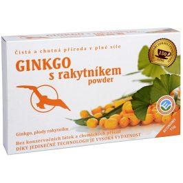 Phoenix Division Ginkgo s rakytníkem powder - ginkgo, plody rakytníku 75 g