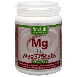Finclub Fin Mag375tabs 140 tbl.