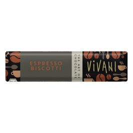 VIVANI Bio tyčinka Čokoládová s espresso náplní 40g