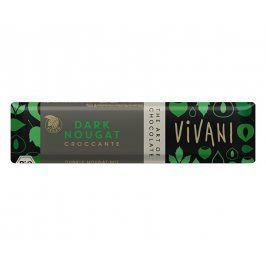 VIVANI Bio tyčinka Čokoládová nugátová tmavá 35g