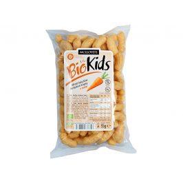MCLLOYD´S Bio Křupky kukuřičné mrkvové 55 g