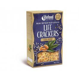Lifefood Bio Life crackers konopné s chia 90g