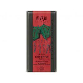 VIVANI Bio hořká čokoláda Chili 100g