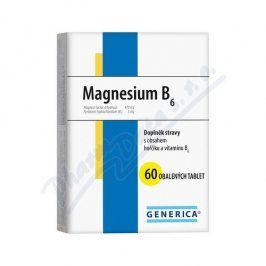 GENERICA S.R.O. Magnesium B6 Generica tbl.60