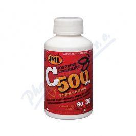 JML Vitamin C tablet 120x500 mg postupným uvolňováním s šípky
