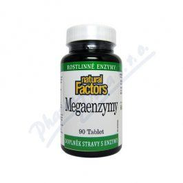 NATURAL FACTORS NUTRITIONAL PRODUCTS Mega Enzymy tbl.90 Natural Factors