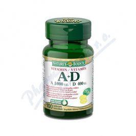 NATURES BOUNTY Natures Bounty Vitamin A+D tob.100x5000/400m.j.