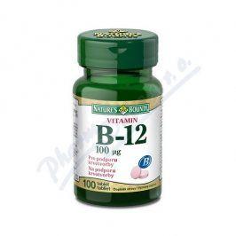 NATURES BOUNTY Natures Bounty Vitamin B12 tbl.100x100mcg