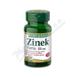 NATURES BOUNTY Natures Bounty Zinek FORTE 25mg tbl.100