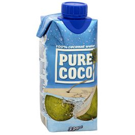 Pure Coco Pure Coco 100% kokosová voda 330 ml