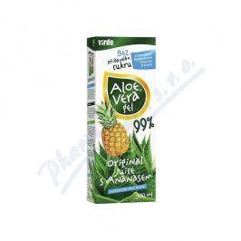 VIRDE SPOL.S R.O. Aloe vera gel s ananasem 500ml
