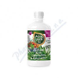 VIRDE SPOL.S R.O. Aloe vera gel s borůvkou a rakytníkem 500ml