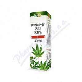 VIRDE SPOL.S R.O. Konopný olej 100% 200ml