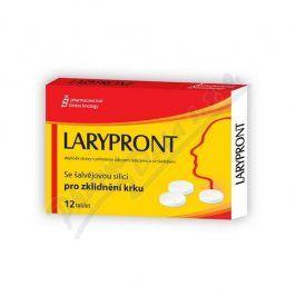 PHARMACEUTICAL BIOTECHNOLOGY S.R.O. Larypront se šalvějovou silicí tbl.12