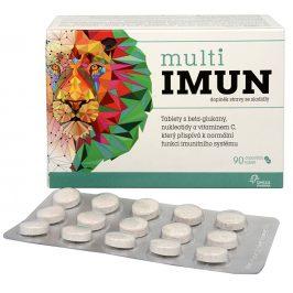 Omega Pharma MultiIMUN cucavé tablety s grepovou příchutí 90 tbl.