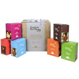 English Tea Shop Dárková kolekce - luxusní BIO čaje ve zlaté kostce 96 sáčků/6 příchutí