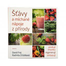 Knihy Šťávy a míchané nápoje z přírody (MUDr. David Frej, Radmila Zrůstková)