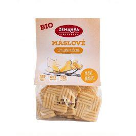 Biopekárna Zemanka Bio Máslové sušenky s ovesnými vločkami 100 g