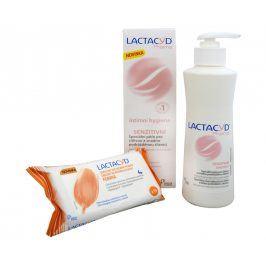 Omega Pharma Lactacyd Pharma Senzitivní 250 ml + Lactacyd ubrousky 15 ks ZDARMA