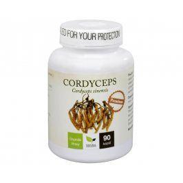 Natural Medicaments Cordyceps Premium 90 kapslí - SLEVA - POŠKOZENÁ ETIKETA