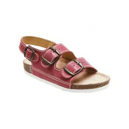 SANTÉ Zdravotní obuv dětská D/302/C30/BP červená 28