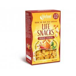 Lifefood Bio Life snacks indické kešu 80g
