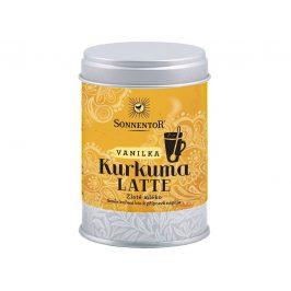 Sonnentor Bio Kurkuma Latte-vanilka 60 g dózička ( Pikantní kořeněná směs )
