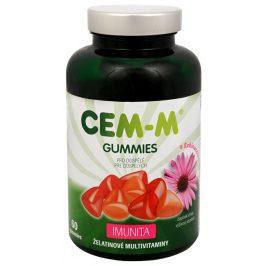 SALUTEM Pharma CEM-M Gummies pro dospělé IMUNITA 60 želatinových tbl.