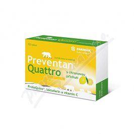 SVUS PHARMA A.S., HRADEC KRÁLOVÉ Preventan Quattro s citronovou příchutí tbl.12