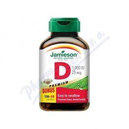 JAMIESON LABORATORIES JAMIESON Vitamín D3 1000 IU cps.180