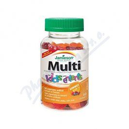 JAMIESON LABORATORIES JAMIESON Multi Kids Gummies želatin.pastilky 60ks