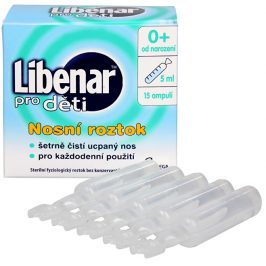Omega Pharma Libenar pro děti 15 ampulí po 5 ml