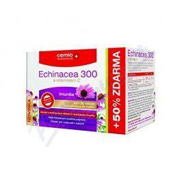 Cemio Switzerland, s.r.o. Cemio Echinacea 300 s vitaminem C tbl.60+30