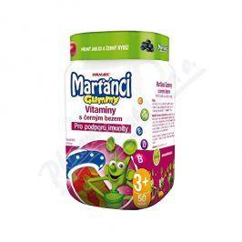 Walmark Walmark Marťánci Gummy Černý bez 20mg 50ks