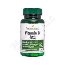 Natures Aid Ltd. Vitamín B1 (Thiamin) 100mg tbl.90