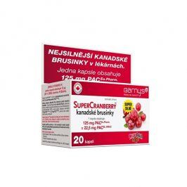 Barny´s Barnys SuperCranberry kanadské brusinky cps.20