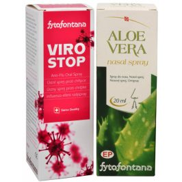 Herb Pharma Fytofontana ViroStop ústní sprej 30 ml + Aloe vera nosní spray 20 ml ZDARMA