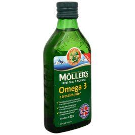 Möller´s Möller´s rybí olej Omega 3 z tresčích jater 250 ml