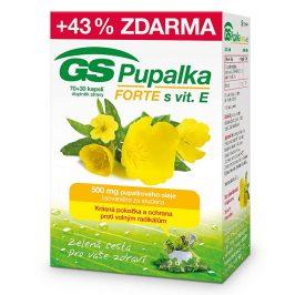 GreenSwan GS Pupalka Forte s vitaminem E 70 kapslí + 30 kapslí ZDARMA