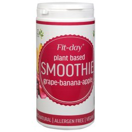 FIT-DAY FIT-DAY Plant based smoothie GRAPE-BANANA-APPLE 600 g