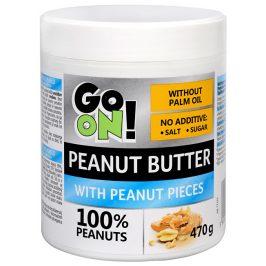 Vieste group GO ON! Arašídové máslo s kousky arašídů 470 g