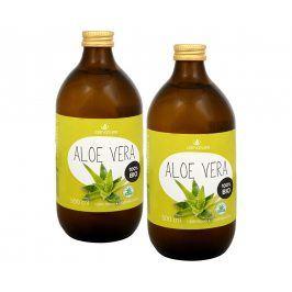 Allnature Aloe vera 100% Bio šťáva 2x 500 ml