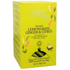 English Tea Shop Citronová tráva se zázvorem a citrusy 20 s.