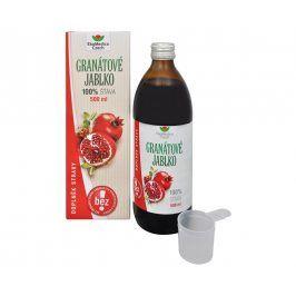 EkoMedica Czech Granátové jablko - 100% šťáva z granátového jablka 500 ml - SLEVA - POŠKOZENÁ KRABIČKA, BEZ KRABIČKY