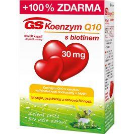 GreenSwan GS Koenzym Q10 60 mg 30 kapslí + 30 kapslí