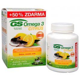 GreenSwan GS Omega 3 Citrus 60 kapslí + 30 kapslí