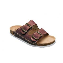 SANTÉ Zdravotní obuv dětská D/202/C32/BP bordo 34