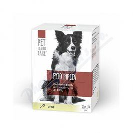 FARMACIA CARE s.r.o. PET HEALTH CARE Fytopipeta pes 10-20 kg 3x 10 ml