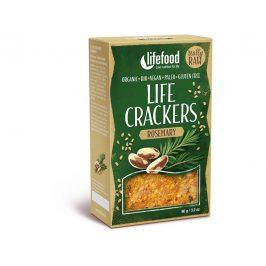 Lifefood Bio Life crackers Rozmarýnové RAW 90 g